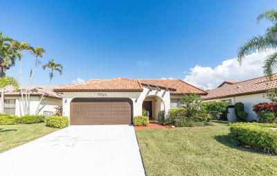 Boca Raton Single Family Home For Sale: 7723 Solimar Circle