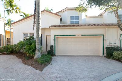 West Palm Beach Townhouse For Sale: 7712 Bougainvillea Court