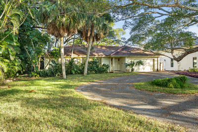 Palm Beach Gardens Single Family Home For Sale: 14732 Palmwood Road