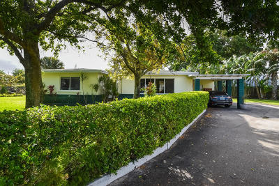 West Palm Beach Single Family Home For Sale: 1376 Willow Road