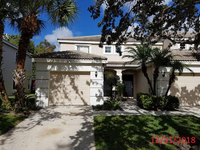 West Palm Beach Townhouse For Sale: 4591 Palmbrooke Circle
