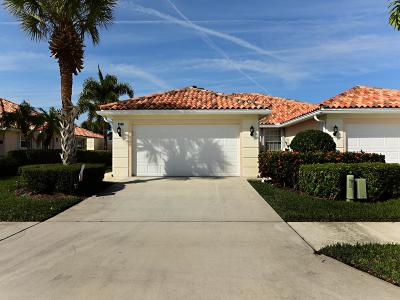 Hobe Sound Single Family Home Contingent: 8348 SE Double Tree Drive