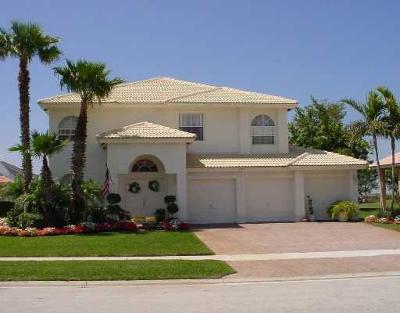 Wellington Single Family Home For Sale: 1751 Corsica Drive