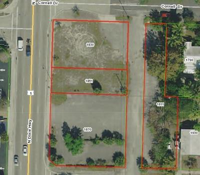 Lake Worth Residential Lots & Land For Sale: 2302-2318 Dixie Highway