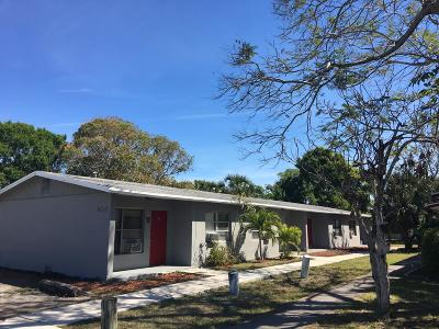 Fort Pierce Single Family Home For Auction: 410 9 Street