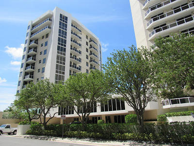 West Palm Beach Condo For Sale: 1617 Flagler Drive #503