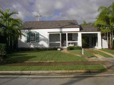 West Palm Beach Single Family Home For Sale: 3905 Washington Road
