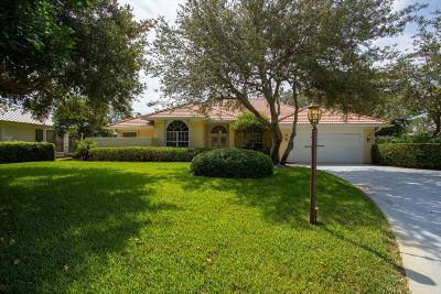 Palm City Single Family Home For Sale: 5127 SW Landing Creek Drive