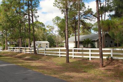 Jupiter Single Family Home For Sale: 13431 158 Street