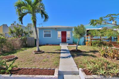 Lake Worth Single Family Home For Sale: 507 S K Street