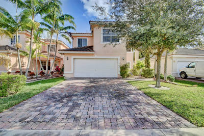 West Palm Beach Single Family Home For Sale: 6264 Adriatic Way