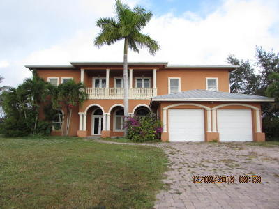 Port Saint Lucie Single Family Home Contingent: 703 Ramie Court
