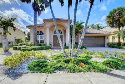 Boca Raton Single Family Home For Sale: 19705 Dinner Key Drive
