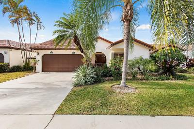 Boca Raton Single Family Home Contingent: 7939 Villa Nova Drive