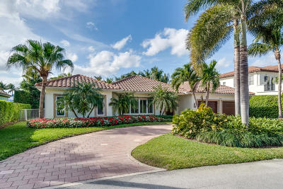 Boca Raton Single Family Home For Sale: 2221 Cherry Palm Road