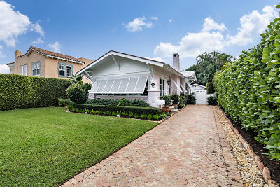 West Palm Beach Single Family Home For Sale: 324 Edgewood Drive
