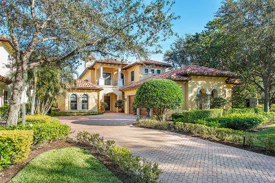 Palm Beach Gardens Single Family Home For Sale: 14018 Old Cypress Bend