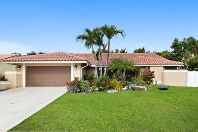 Boca Raton FL Single Family Home For Sale: $490,000