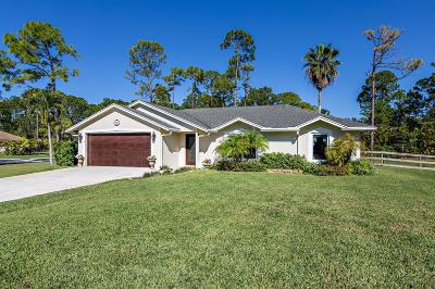 West Palm Beach Single Family Home For Sale: 13297 82nd Street