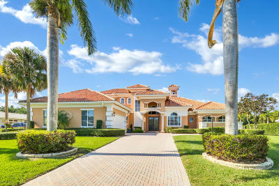 Boynton Beach Single Family Home For Sale: 10633 Pine Tree Terrace