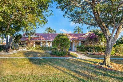 Boynton Beach Single Family Home For Sale: 11350 Wingfoot Drive
