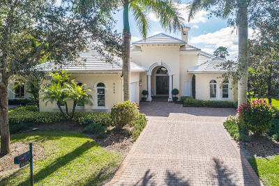 Hobe Sound Single Family Home For Sale: 9628 SE Sandpine Lane