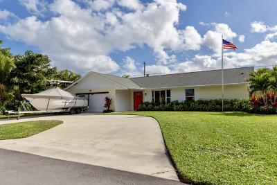 Jupiter Single Family Home For Sale: 4214 Robert Street