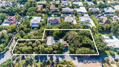 Palm Beach FL Single Family Home For Sale: $7,100,000