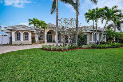 Palm Beach Gardens Single Family Home For Sale: 14208 Harbor Lane