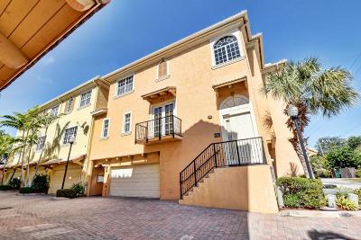 Delray Beach Townhouse For Sale: 636 Renaissance Way
