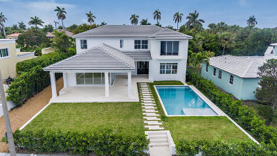 West Palm Beach Single Family Home For Sale: 3409 S Flagler Drive