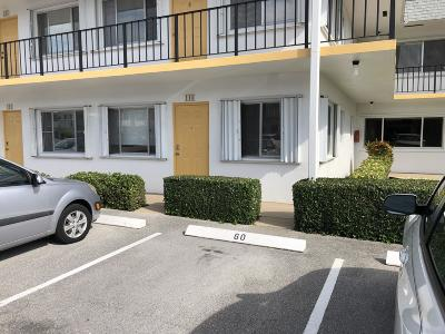Lake Worth Condo For Sale: 3360 Lake Osborne Drive #110