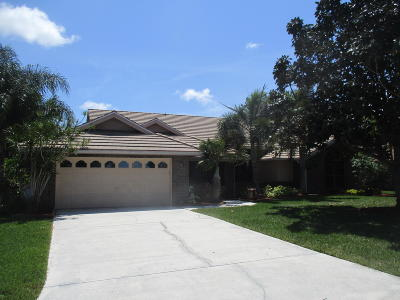 Port Saint Lucie Single Family Home For Sale: 1138 SW Greenbriar Cove