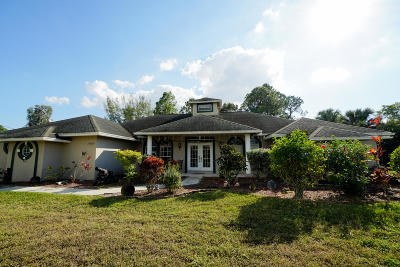 Loxahatchee Single Family Home For Auction: 16968 94th Street