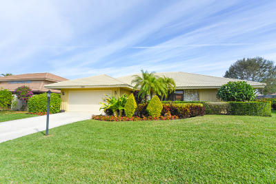 Palm Beach Gardens Single Family Home Contingent: 3314 Pine Hill Trail