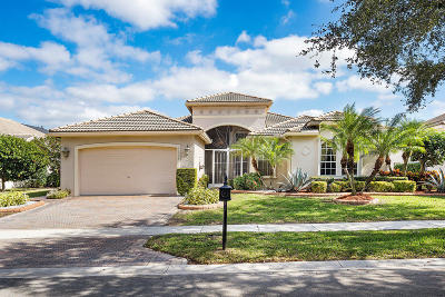 Delray Beach Single Family Home For Sale: 13503 Barcelona Lake Circle