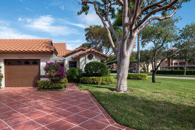 Delray Beach Single Family Home For Sale: 6454 Pointe Pleasant Circle