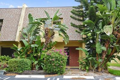 Delray Beach Townhouse For Sale: 475 Canal Pt N Point #111