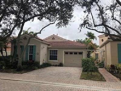 Palm Beach Gardens Single Family Home Contingent: 18 Via Verona