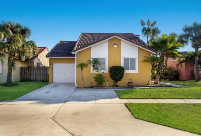 Boynton Beach Single Family Home Contingent: 9680 63rd Trail S