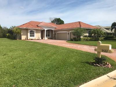 Fort Pierce Single Family Home For Sale: 9522 Shadow Lane