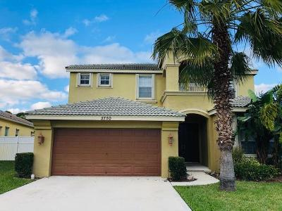 Royal Palm Beach Single Family Home Contingent: 2750 Misty Oaks Circle