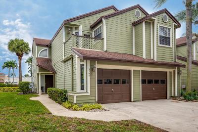 Boca Raton Single Family Home For Sale: 5285 Buckhead Circle #1010
