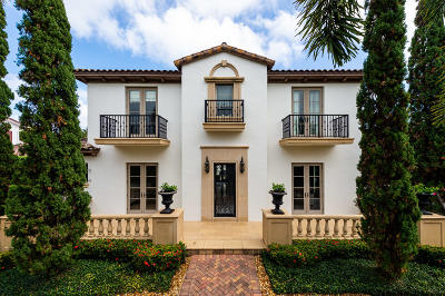 Palm Beach Single Family Home For Sale: 579 E Woods Road