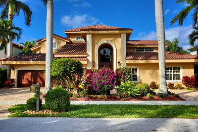 Boca Raton FL Single Family Home For Sale: $1,698,999