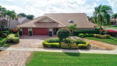 Delray Beach Single Family Home For Sale: 3714 Red Maple Circle