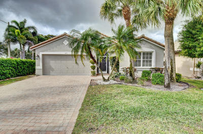 Boynton Beach Single Family Home For Sale: 6751 Sherbrook Drive