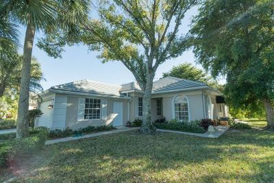 Palm Beach Gardens Single Family Home For Sale: 8372 E Garden Oaks Circle