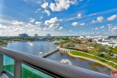 Palm Beach Gardens Condo For Sale: 3630 Gardens Parkway #603c