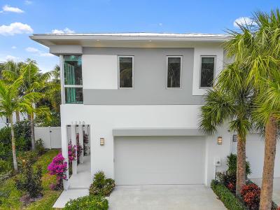 Delray Beach Townhouse For Sale: 1230 NE 8th Avenue